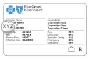 Blue Cross Prefix